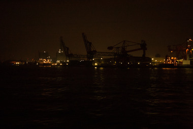 京浜運河・クレーン