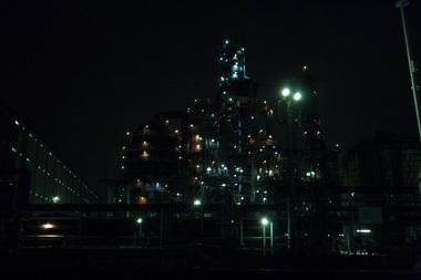 塩浜運河・東亜石油