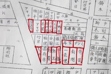一宮松栄新町地図