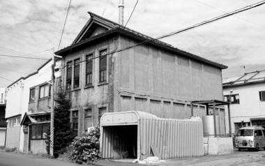 小樽・タヌキ小路富士の湯全景
