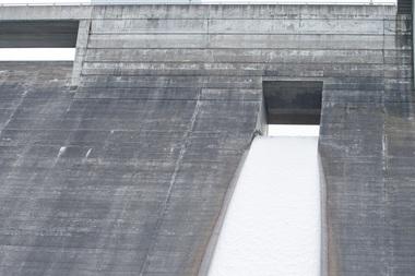 小樽市・朝里ダム洪水吐