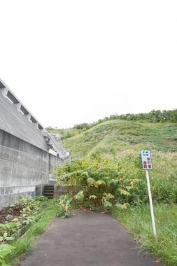 小樽市・朝里ダム歩行者用通路