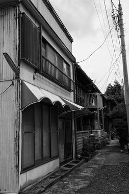 津島新天地・大久保屋さんのあった路地