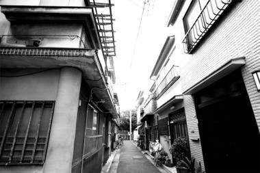 東京鳩の街カフェー跡