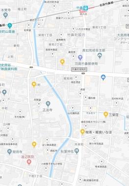 竹鼻・地図
