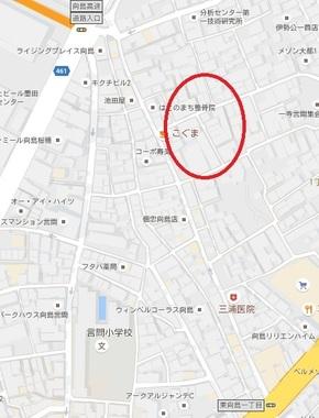 東京鳩の街地図
