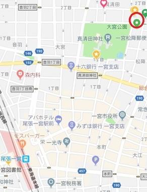 一宮松栄新町新地図
